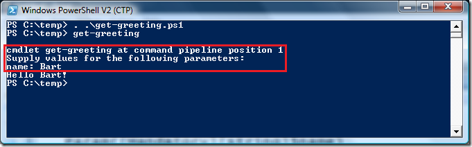 Windows PowerShell - B#  NET Blog